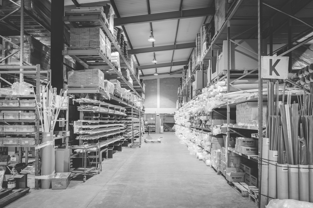 Bainbridge warehouse - supply chain management