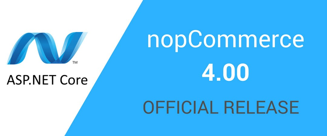 nopCommerce 4.00 released with ASP.NET Core