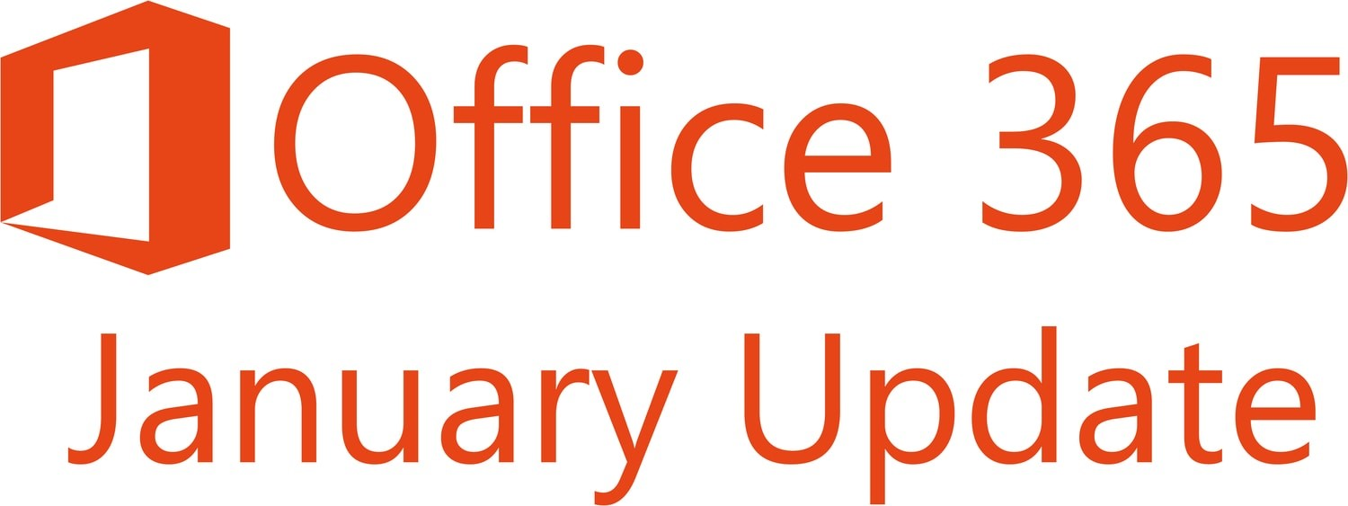 Office 365 January Update