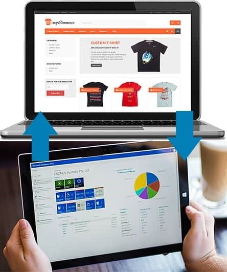 Integrating information from a nopCommerce e-Commerce web shot to Microsoft Dynamics NAV