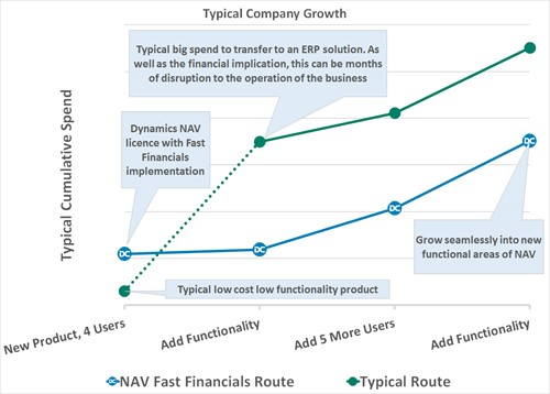 Typical company growth