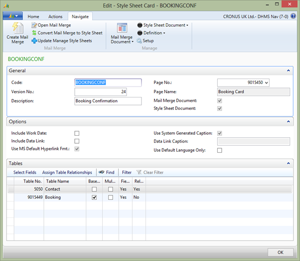 Style Sheets in Microsoft Dynamics NAV 2013