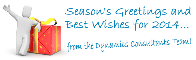 Season's Greetings from Dynamics Consultants.