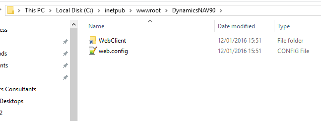 Installing Many Builds of NAV Web Client on a Server