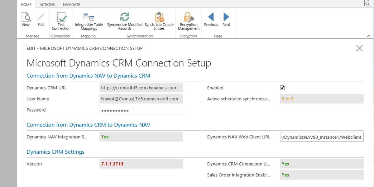 The Dynamics Connector for Microsoft Dynamics® NAV 2016– Ep