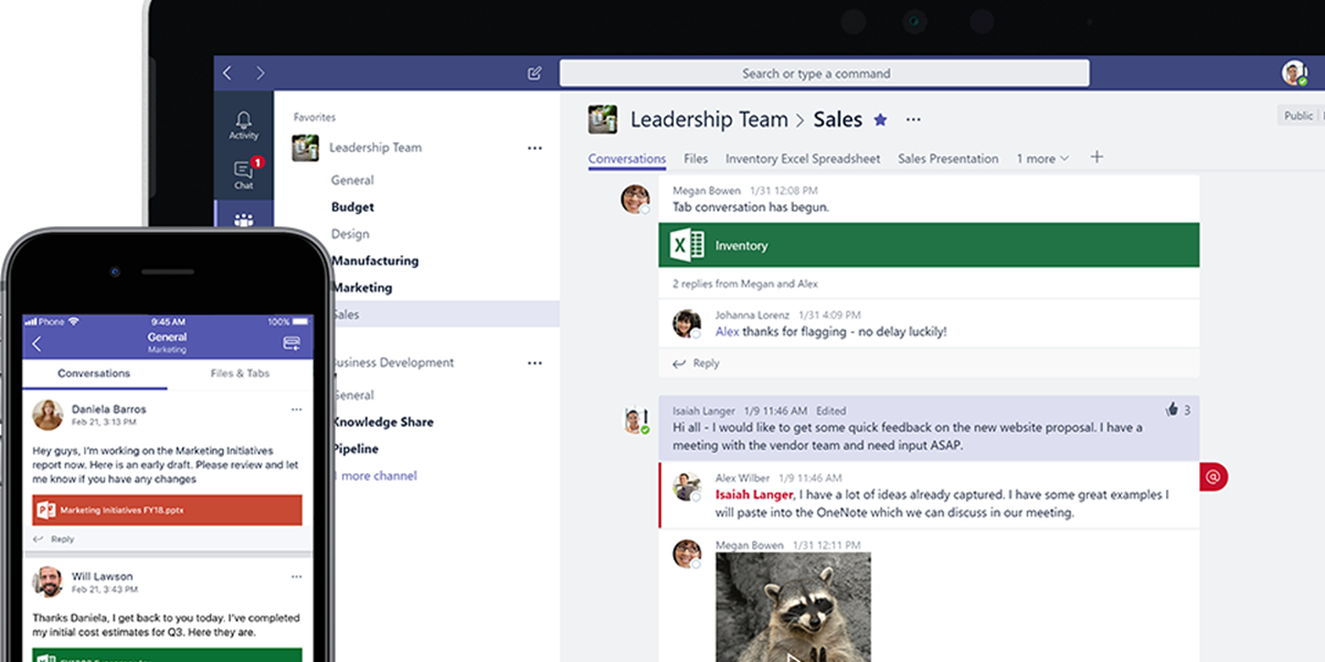 Microsoft Teams is now available for free