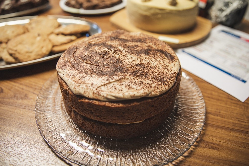 The Great DC Bake Off - cappuccino cake