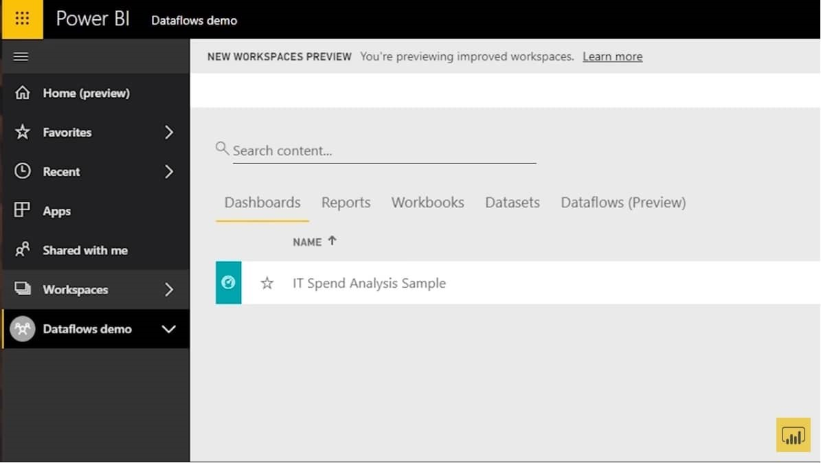Power BI Data Prep with Dataflows