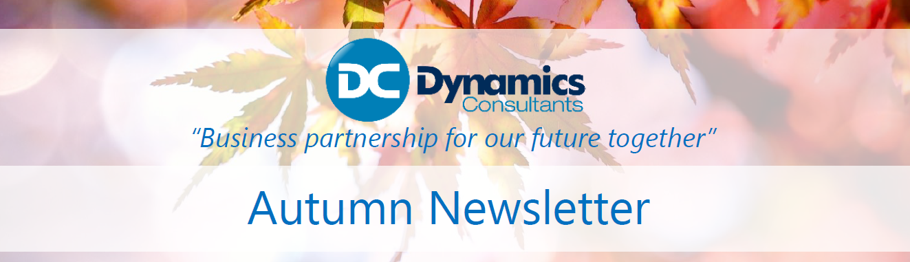 Autumn Dynamics Newsletter