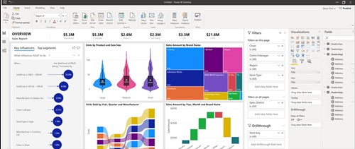 New Power BI visuals