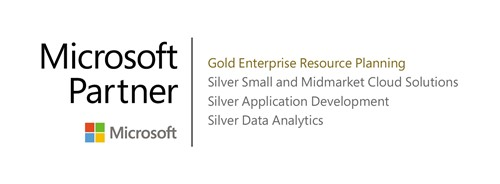 Microsoft Gold Partner in ERP for UK